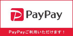 PayPayご利用できます。